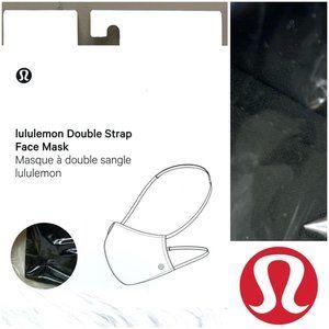 NWT🤩 •LULULEMON•   Dark Olive Double Strap Mask